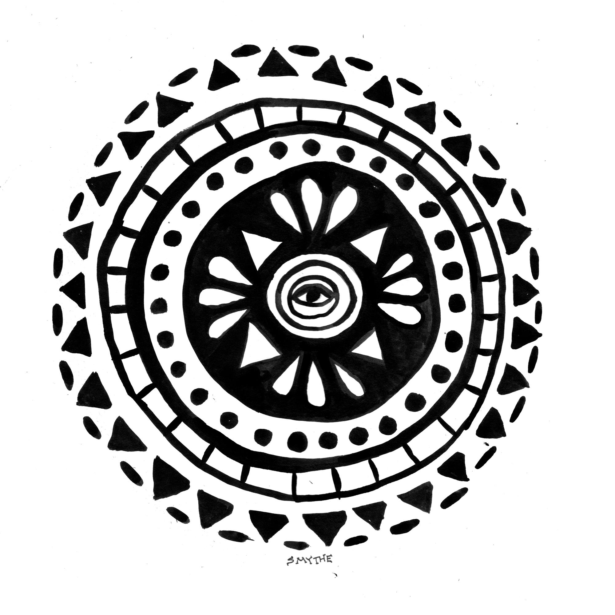 108 Dreams mandala - stuart smythe